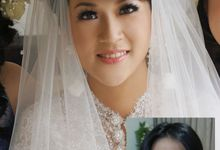 Dennis & Tiara Wedding by Marcelline Vony MUA