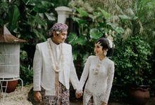 The Wedding of Ajeng & Deny by William Saputra Photography