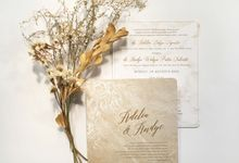 Adelia & Andye by Gracia The Invitation
