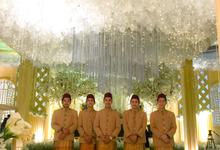 The Wedding of Dinda & Ori by Adara Pager ayu