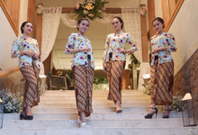 The Wedding of Dyna & Adrian by Adara Pager ayu