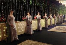 The Wedding of Thalita & Ahmad by Adara Pager ayu