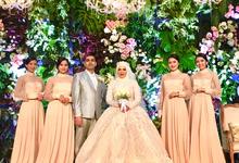 The Wedding of Fatimah & Ahmad by Adara Pager ayu