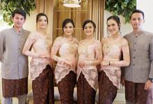 The Wedding of Fina & Aji by Adara Pager ayu