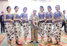 The Wedding Of Deny & Tya by Adara Pager ayu