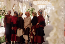 The Wedding of Haunan & Aznan by Adara Pager ayu