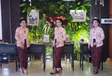 The wedding of Niko & Icha by Adara Pager ayu