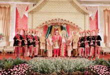 The Wedding of Intan & Wuldan by Adara Pager ayu