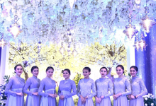 The Wedding of Nadia & Bassam  by Adara Pager ayu