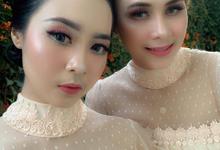 The Wedding of Tami & Bayu by Adara Pager ayu