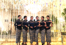 The Wedding of Bia & Bowo by Adara Pager ayu