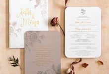 Adhi & Maya by Meltiq Invitation