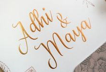 Adhi & Maya by Meltiq Invitation