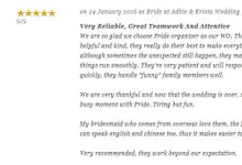 PRIDE's Testimonial by PRIDE Organizer