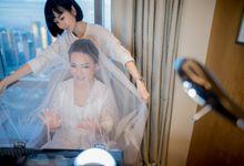 The Wedding of Adi & Ellen by MAWAR JEWELLERY