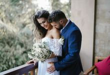 Intimate Wedding of Vanessa and Maxime by The Kayon Jungle Resort