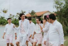 Adipati Dolken & Canti Tachril Beach Wedding by Sheraton Belitung Resort