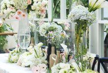 The Wedding of Adit & Rarhas by Eden Design