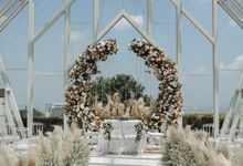 Deyane & Adam Wedding Decoration by Valentine Wedding Decoration