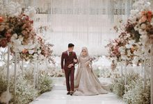 Andri & Gigi Wedding Decoration by Valentine Wedding Decoration