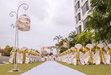 Lush Garden Ceremony by Hotel Jen Penang by Shangri-la