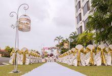 Lush Garden Ceremony by JEN Penang Georgetown by Shangri-La