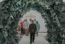 The Sacred moment of Nadia & Didit Akad by  Menara Mandiri by IKK Wedding (ex. Plaza Bapindo)