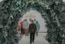 The Sacred moment of Nadia & Didit Akad by Menara Mandiri (Ex. Plaza Bapindo) by IKK Wedding
