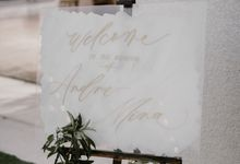 Andre & Mina's Wedding by Things by Mona Calligraphy & Design