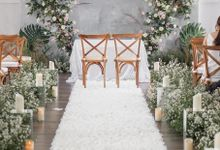 The Wedding Of Eric and Aska by Elior Design