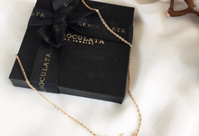 18ct Fine Gold - Gisha Name Necklace by AEROCULATA