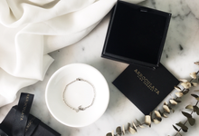 Wilbert 18ct Custom Name Bracelet for his girlfriend by AEROCULATA