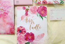 Arsy & Fadly Wedding Invitation by Gracia The Invitation