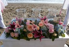 Beach Wedding Ceremony by Bali Wedding Assistant