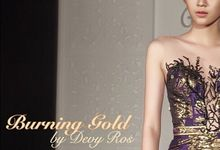 Burning Gold by Devy Ross Couture
