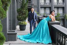 Wedding and Prewedding Dress by Luo Couture / madebyluo.com
