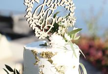 The Wedding of Jessie & Brian by KAIA Cakes & Co.