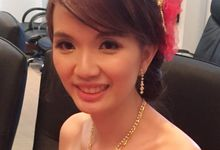 Bride Sharon Actual Day by Makeupwifstyle