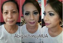 Wedding Makeup by Abigail Yensy Makeup
