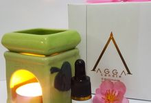 Leaf Theme Oil Burner by AGGA candle