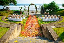 Wedding Ceremony of Wendy and Narulita by WakaGangga Resorts