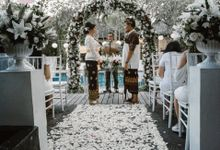 Beautiful Wedding at Kamuela Sanur Poolside by Kamuela Villas and Suite - Sanur, Bali