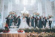 Resepsi Pernikahan Evelyn & Jossy di Menara Peninsula by GoFotoVideo