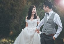 Aris & Grace Prewedding at Mountains by GoFotoVideo