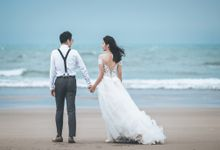 Prewedding of Aris & Grace at Beach by GoFotoVideo