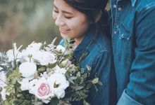 Jaya & Ellen Outdoor Prewedding by GoFotoVideo