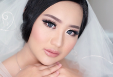 trial for Miss stephanie by Agnes Yosi Make Up Artist