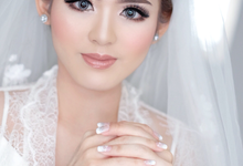 morning look make up for bride to be Mrs san san by Agnes Yosi Make Up Artist