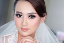 bride to be Ms sukma by Agnes Yosi Make Up Artist