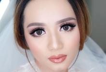trial make up Ms. Vio by Agnes Yosi Make Up Artist
